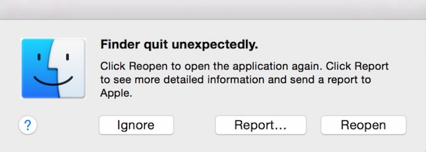 OS X Application Error Troubleshooting